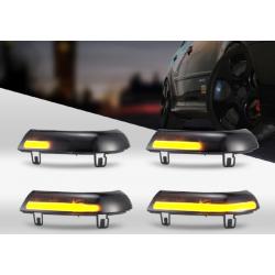 Sequentielle/Dynamische Spiegel-Seitenblinker Schwarz VW Golf MK5