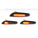 LED Seitenblinker sequentiell schwarz smoke BMW 3er E46