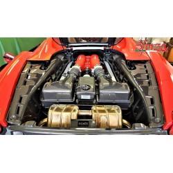 Carbon Motorabdeckungen L/R Ferrari F430