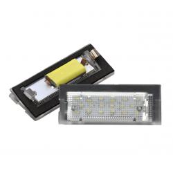 LED Kennzeichen Beleuchtung BMW 5er E39 inkl. E-Prüfzeichen