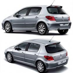 ABS Heckspoiler Peugeot 307 2006-2012