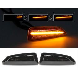 LED Seitenblinker sequentiell schwarz smoke Opel Crossland X