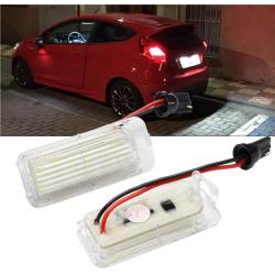 LED Kennzeichen Beleuchtung Ford Fiesta 2008+ inkl. E-Prüfzeichen