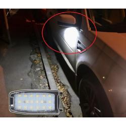 LED Spiegel-Umfeldbeleuchtung Range Rover Sport 07-13 inkl. E-Prüfzeichen