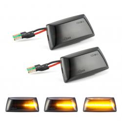 LED Seitenblinker dynamisch schwarz Opel Astra H 04-14. Mit E-Prüfzeichen