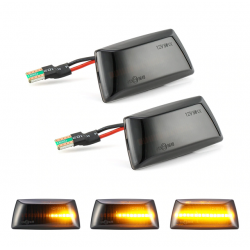 LED Seitenblinker dynamisch schwarz Opel Corsa D 06-14 inkl. E-Prüfzeichen