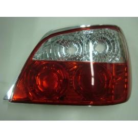 Heckleuchte Subaru Impreza 2001-2002 rot-klar