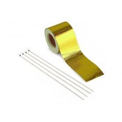 Gold-Hitzeschutztband 5m x 50mm