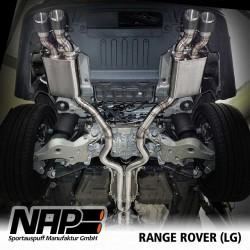 NAP Klappenauspuff-Anlage Range Rover V8