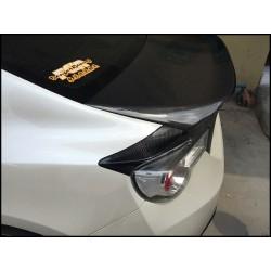 TRD Design Carbon Rückleuchten Covers Toyota GT86 / Subaru BRZ