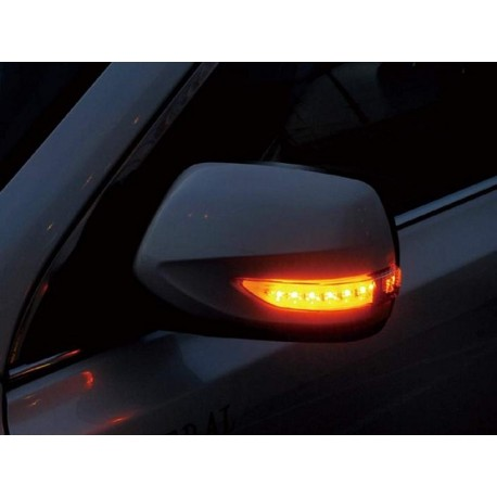 LED Seitenspiegel Blinker Dynamisch Smoke Subaru WRX STI 14+