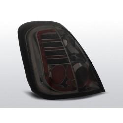 LED Rückleuchten Chrom Smoke Fiat 500 Abarth