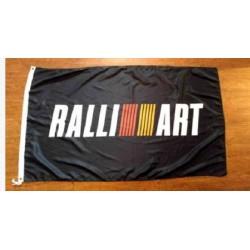 Mitsubishi RALLIART Fahne 90x150
