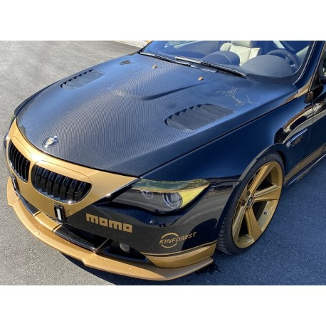 Carbon Motorhaube BMW E63 GTR Style