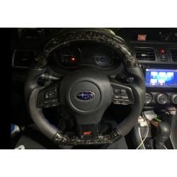 Forged Carbon Lenkrad Subaru Levorg und Impreza STI 2014-