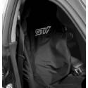 Subaru Sitz-Schonbezug STI Schwarz/Weiss