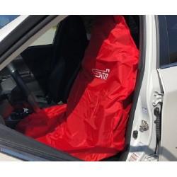 Subaru Sitz-Schonbezug STI Rot/Weiss