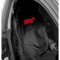 Subaru Sitz-Schonbezug STI Schwarz/Rot