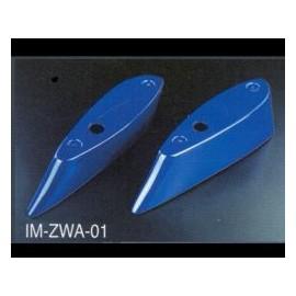 Heckspoiler mit Adapter Zero Sport 2 Teilig Subaru Impreza 2001-
