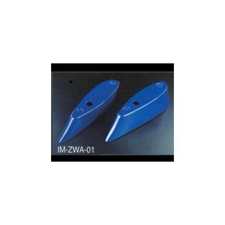 Heckspoiler mit Adapter Zero Sport 2 Teilig Impreza 01-