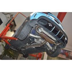 Friedrich Duplex Klappen-Auspuffanlage Mercedes GLA45 AMG