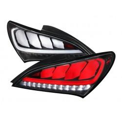 Light Tube LED Rückleuchten Schwarz Hyundai Genesis 09+