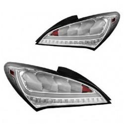 Light Tube LED Rückleuchten Chrom Hyundai Genesis 09+