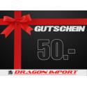 Gutschein CHF 50.00