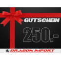 Gutschein CHF 250.00