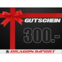 Gutschein CHF 300.00