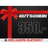 Gutschein CHF 350.00