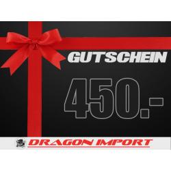 Gutschein CHF 450.00
