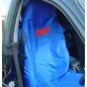 Subaru Sitz-Schonbezug STI Blau/Rot