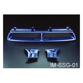 Sportgrill 3-Teilig Subaru Impreza 2001-2002