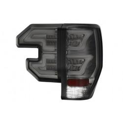 Ford Ranger T6 LED Rückleuchten Schwarz Smoke. Mit Genehmigung