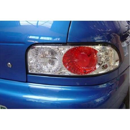 Heckleuchte Subaru Impreza 94-00 Limo chrom