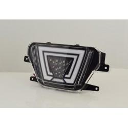 LED Nebellampe Schwarz Toyota Supra A90