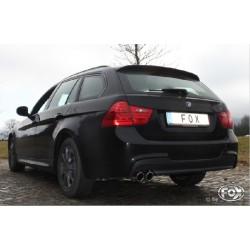 FOX Endschalldämpfer BMW E91 Kombi