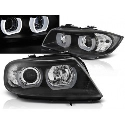 Xenon LED Angel Eyes Scheinwerfer BMW 3er E90