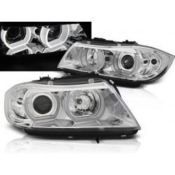 Xenon LED Angel Eyes Scheinwerfer BMW 3er E90
