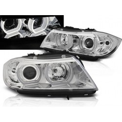 LED Angel Eyes Scheinwerfer BMW 3er E90