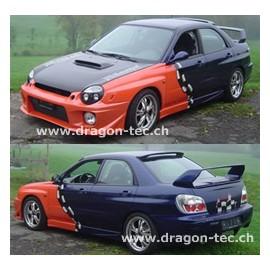 Zero Sport Bodykit Style Subaru Impreza 2001-2002