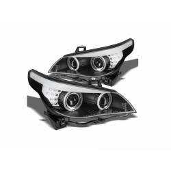 BI-Xenon Angel Eyes Scheinwerfer BMW 5er E60 LCI