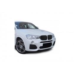 BMW X4 14-17 Sportgrill Nieren Set Schwarz Matt