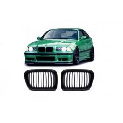 BMW 3er 96-00 Sportgrill Nieren Set M3 Look Schwarz matt
