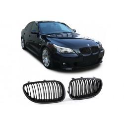 BMW 5er Kombi 2003-2010 Carbon Doppelspeiche Sportgrill Nieren Set