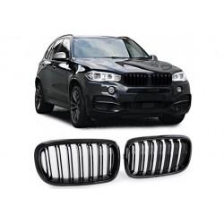 BMW X5 2013-2018 Carbon Doppelspeiche Sportgrill Nieren Set