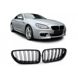 BMW 6er 2011- Carbon Doppelspeiche Sportgrill Nieren Set