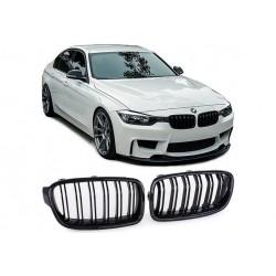 BMW 3er Limo 2011-2016 Carbon M3 Look Sportgrill Nieren Set