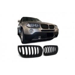 BMW X3 2003-2006 Schwarz M Look Sportgrill